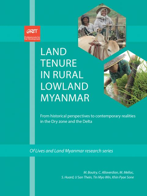 Land tenure in rural low land Myanmar