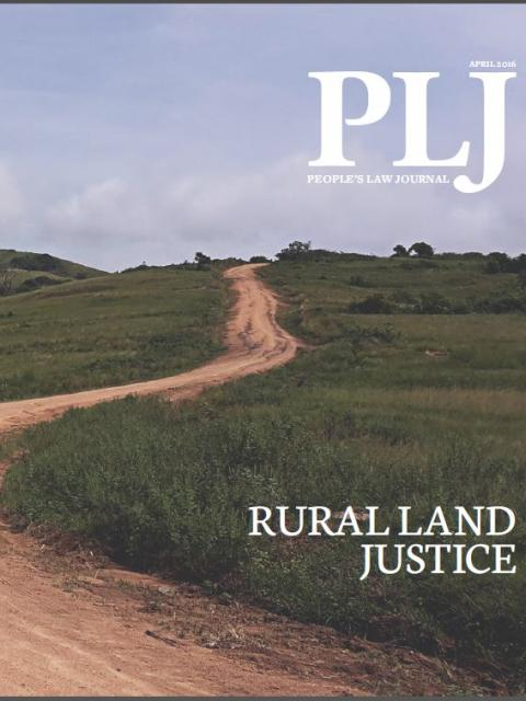 People's Law Journal No 1: Rural Land Justice