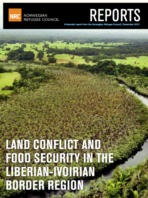 Land Conflict and Food Security in the Liberian-Ivoirian Border Region cover image