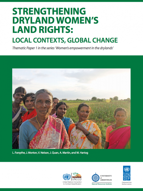 Strengthening Dryland Women's Land Rights cover image