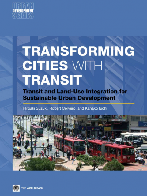 Transforming cities with transit cover image