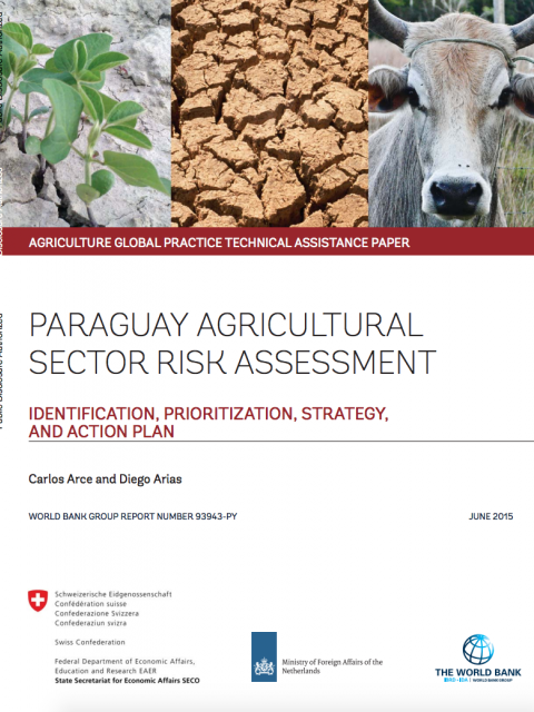 Paraguay Agricultural Sector Risk Assessment cover image