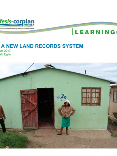 A new land records system cover image