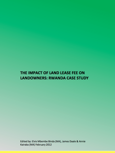 The Impact of Land Lease Fee on Landowners cover image