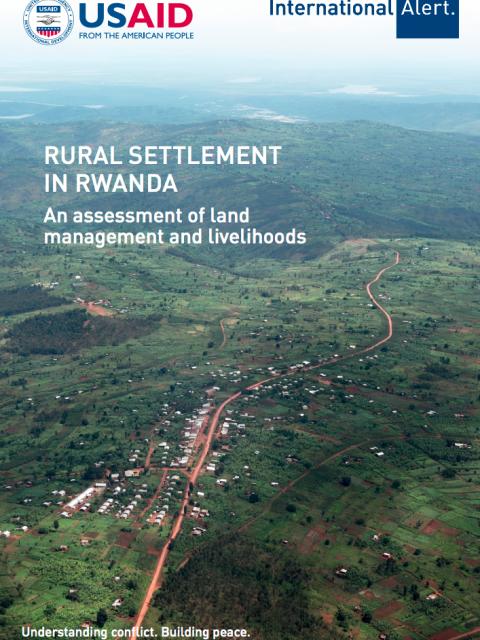 Rural Settlement in Rwanda: An assessment of land  management and livelihoods. cover image