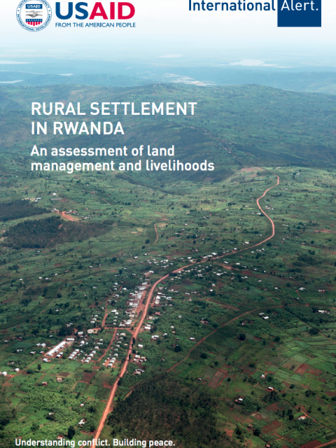 Rural Settlement in Rwanda: An assessment of land  management and livelihoods. cover image