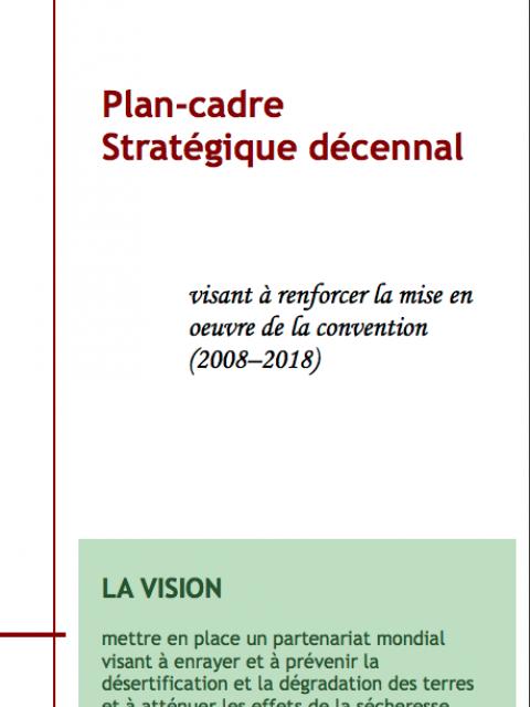 Plan Cadre Stratgique Dcennal Visant Renforcer La Mise En Oeuvre De Convention 2008 2018