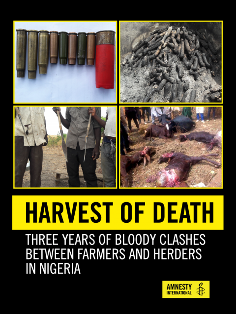 Nigeria: The Harvest Of Death - Three Years Of Bloody Clashes Between Farmers and Herders in Nigeria cover image
