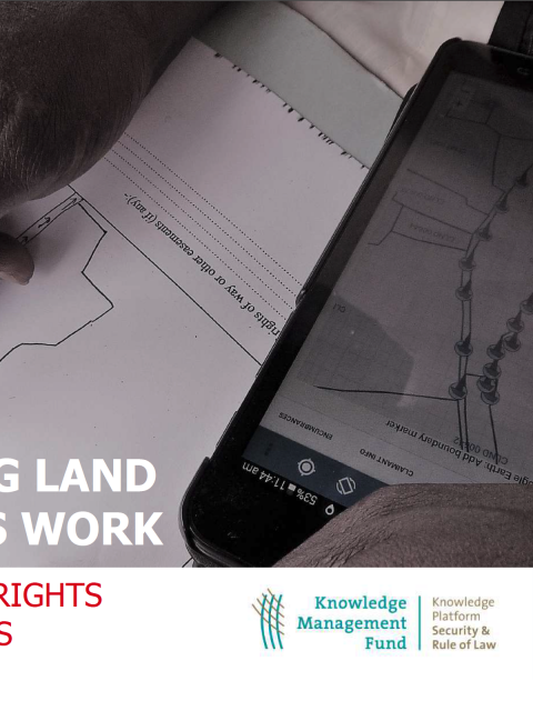 Making Land Rights Work: ZOA Land Rights Guidelines cover image