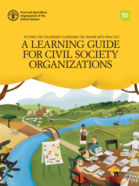 Putting the Voluntary Guidelines into Practice: A Learning Guide for Civil Society Organizations cover image