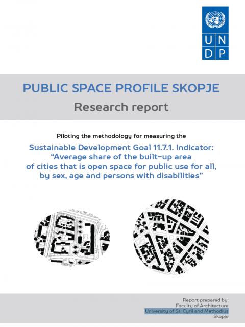 Public Space Profile Skopje: Research Report cover image