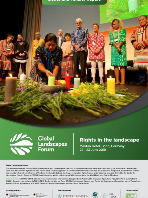 Global Landscapes Forum 2019: Donor and Partner Report cover image