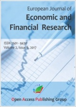 European Journal of Economic and Financial Research logo