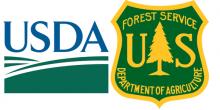 USDA forest service logo