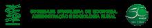 Sociedade Brasileira de Economia e Sociologia Rural logo