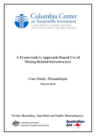 A Framework to Approach Shared Use of Mining-Related Infrastructure