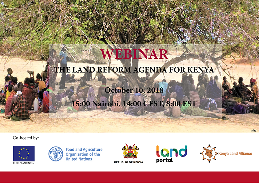 Webinar: The Land Reform Agenda for Kenya | Land Portal